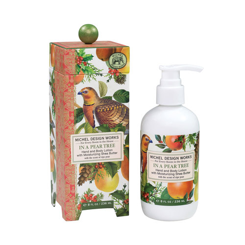 Michel Design Works In a Pear Tree  Hand and Body Lotion 236ml
