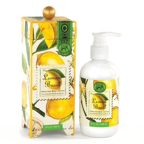 Michel Design Works Lemon Basil  Hand and Body Lotion 236ml