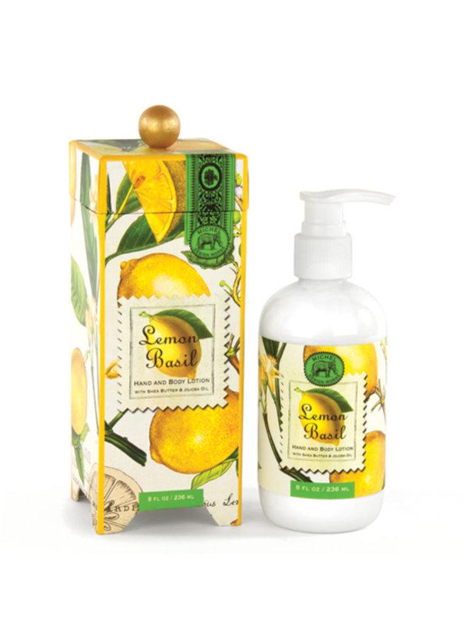 Lemon Basil Hand- und Körperlotion 236ml