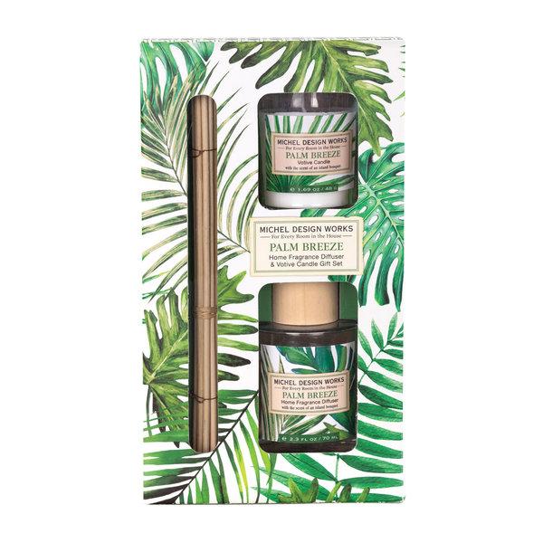Set Palm Breeze Diffuser & Votiefkaars
