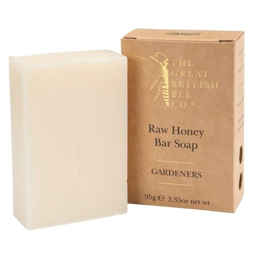 The Great British Bee Co. Raw Honey Bar Soap Gardners 95 gm