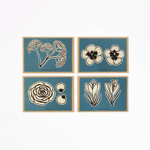 Wald Essbare Blumen Rezept Notecards 10