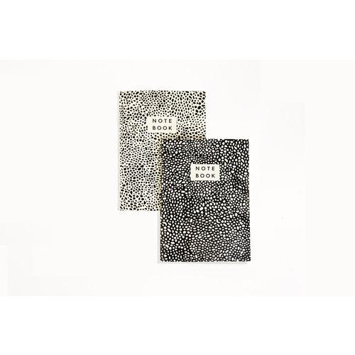 Wald Ensemble de 2 cahiers Spores Pattern A6 09