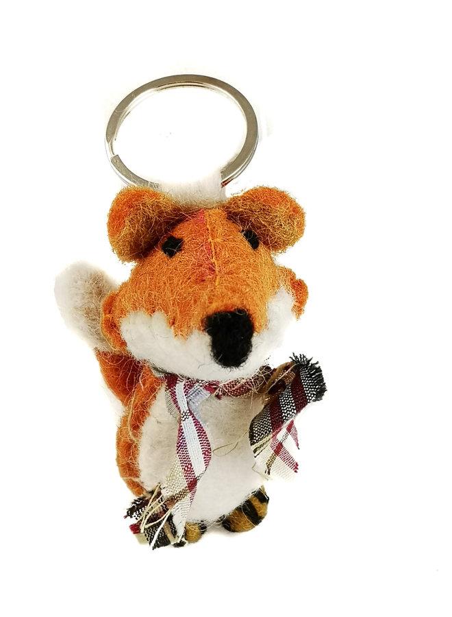 Fox Filz Schlüsselring 33