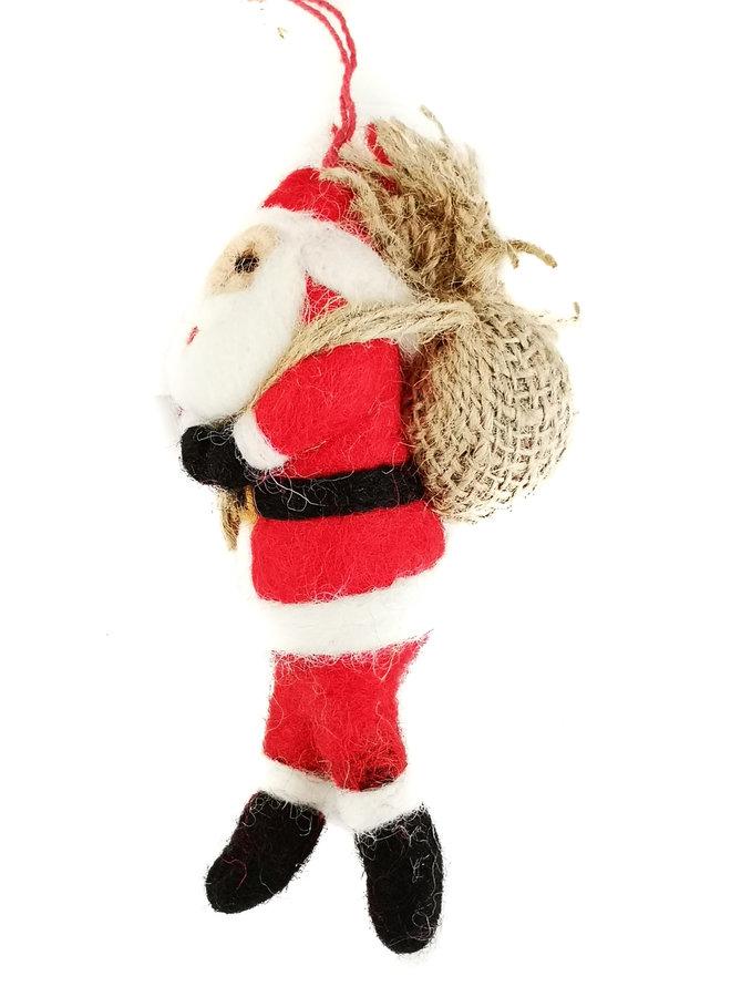 Weihnachtsmann Filz hängende Dekoration 21