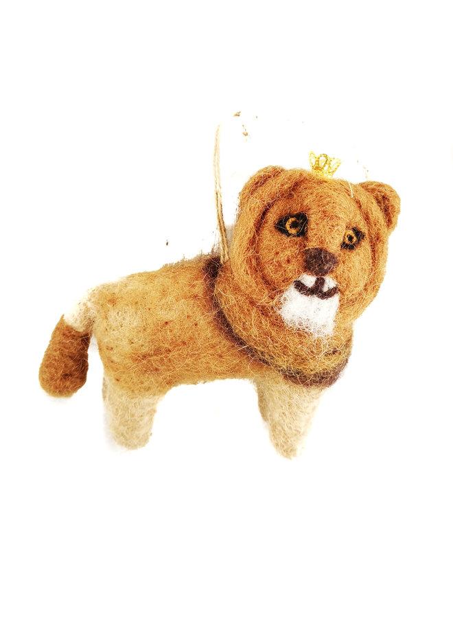 König der Löwen mit Kronenfilz hängende Dekoration 25