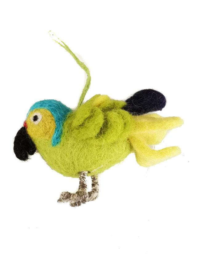 Hängende Dekoration aus Papageienfilz 28