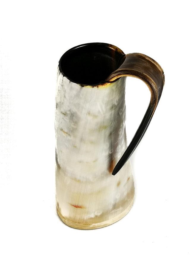 Polierter Horn-Trinkbecher-Griff 49