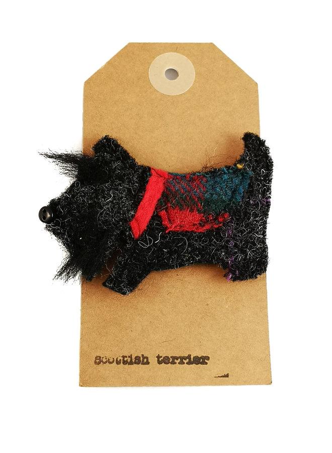 Scottish Terrier Creature Filzbrosche 11