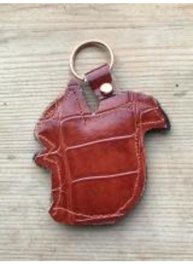 Red Squirel Creature Filzschlüsselring 14