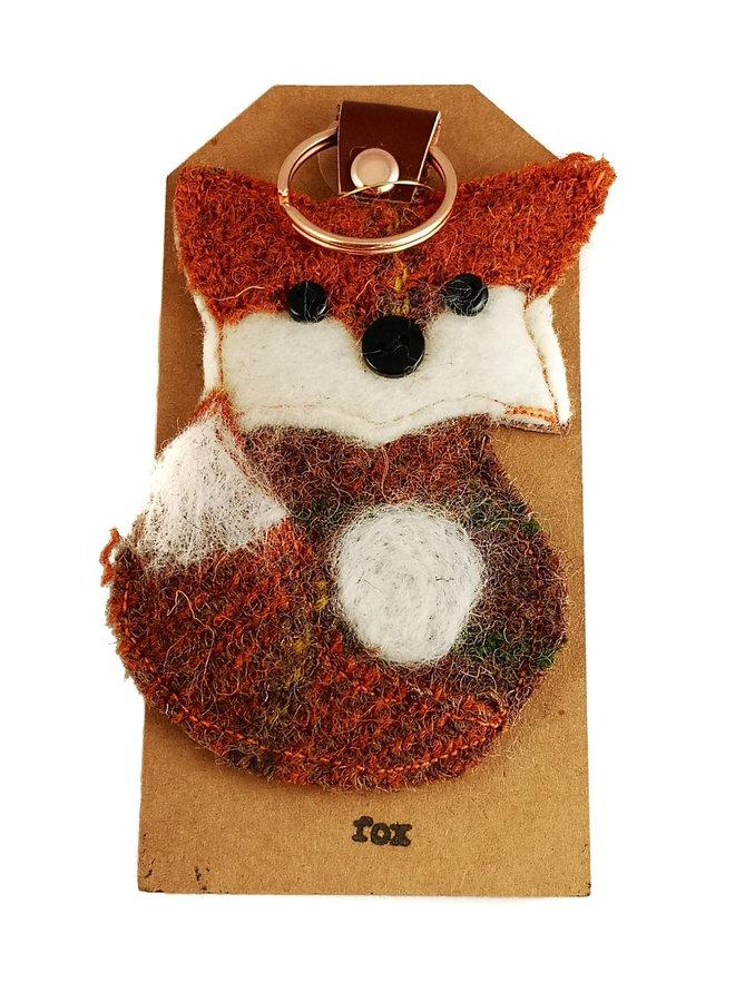 Fox Creature Filzschlüsselring 18