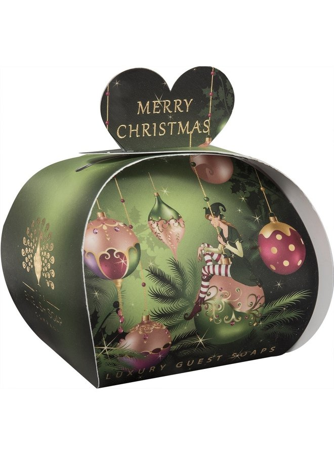 Merry Christmas Elf Luxury Guest Soap 08