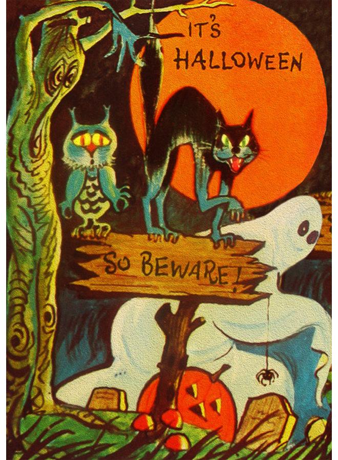 It's Halloween Card