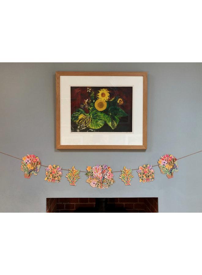 Blumengirlande von Mark Hearld