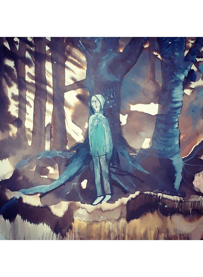 Figure in Winter Trees 33