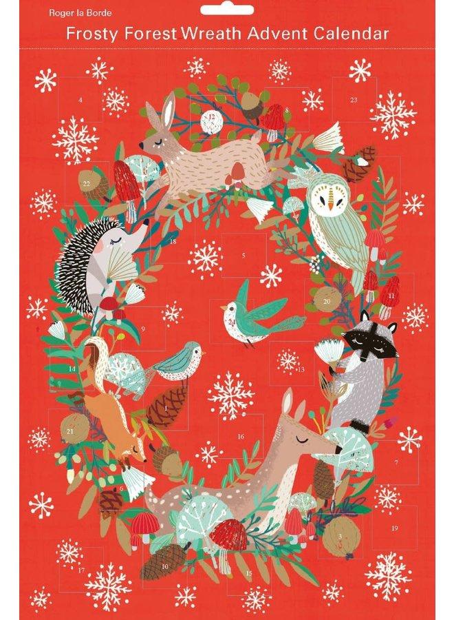 Frosty Forest Wreath Advent Calendar