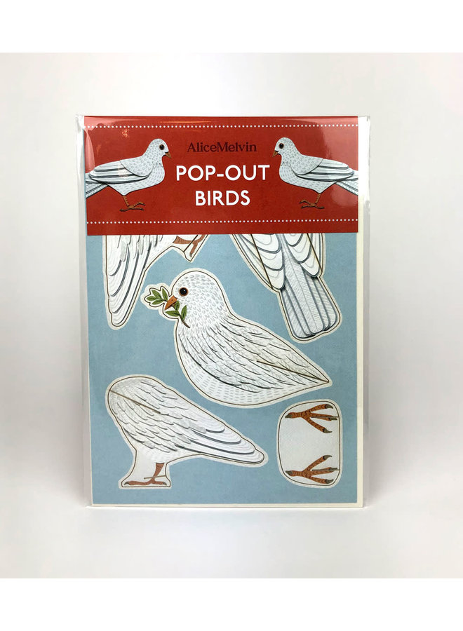 Dove Pop-Out card by Alice Melvin