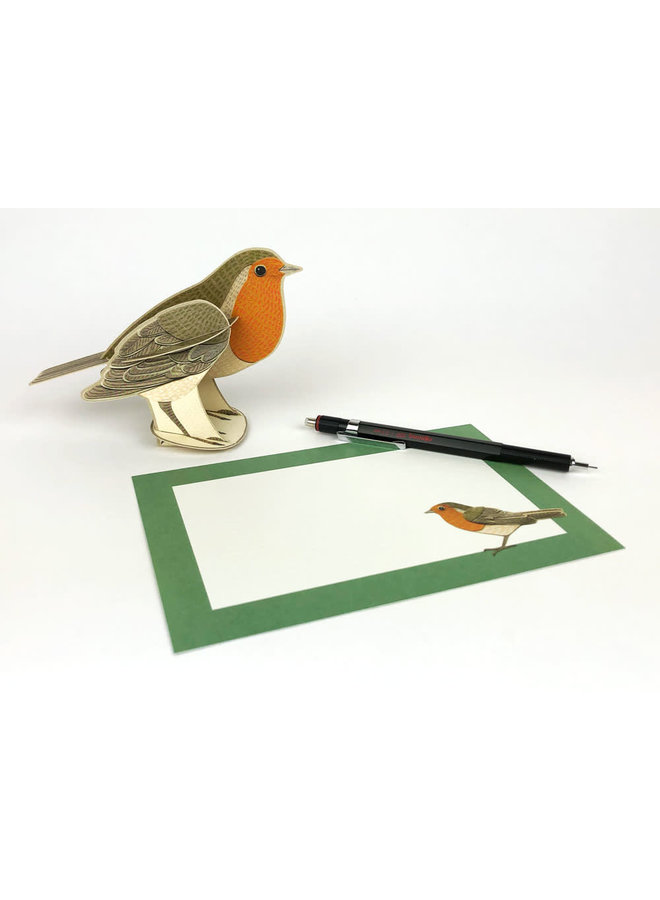 Robin Pop-Out card by Alice Melvin