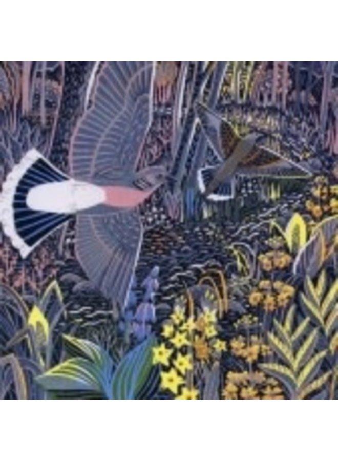 Wetland Flowers by Annie Sudan 140x140mm card