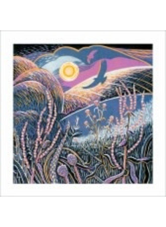 Wayside Winter by Annie Sudan 140x140mm card