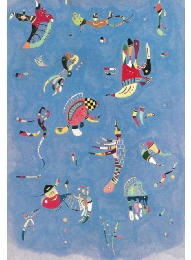 Sky Blue by Kandinsky 180 x 140cm