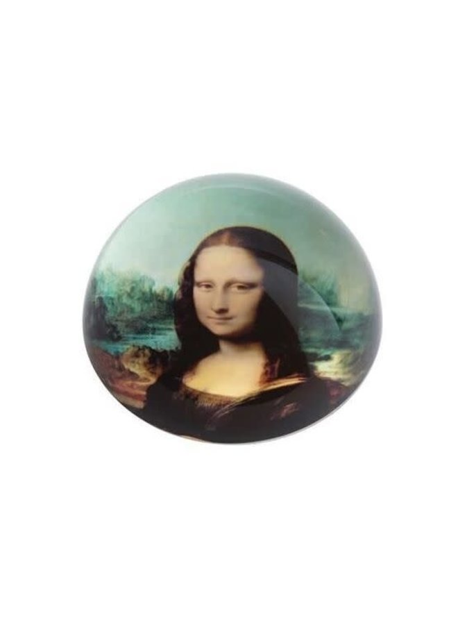 Mona Lisa by Da Vinci  Paperweight 095