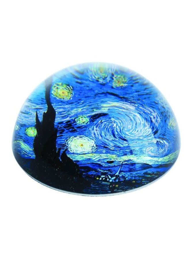Starry Night by Van Gogh  Paperweight 095