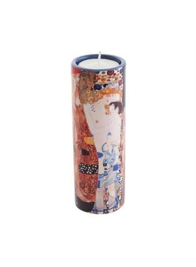Klimt 3 Ages T. Light Candle  ceramic 246