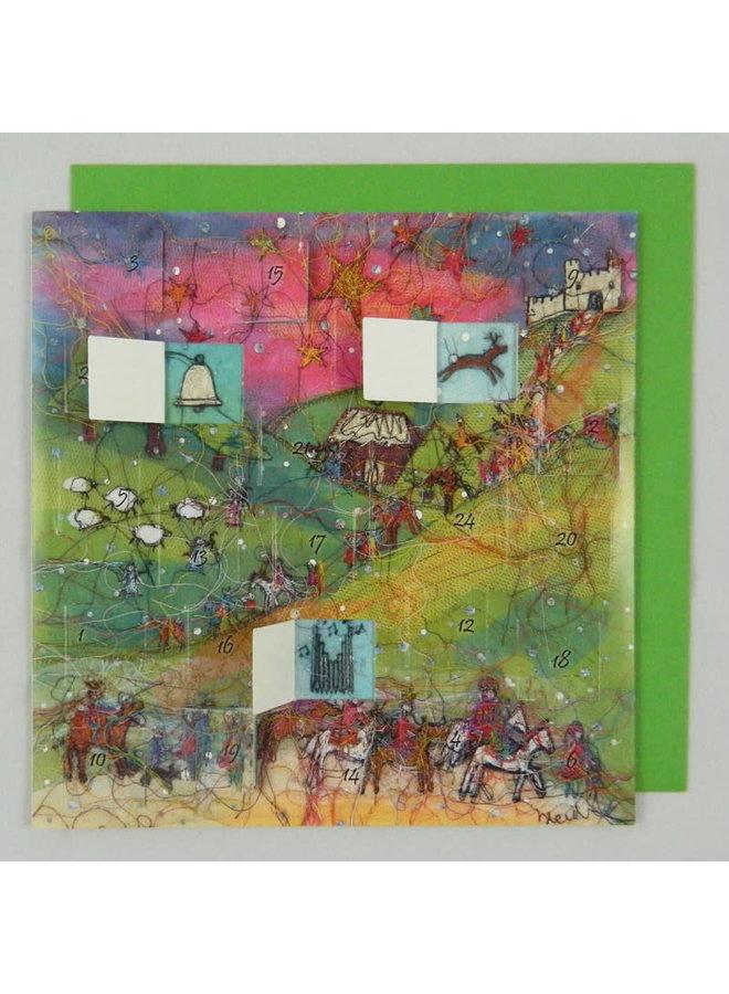 Journey of the Magi Advent Calendar by Heidi Rhodes