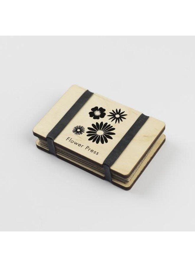 Pocket Flower Press Silhouette 22