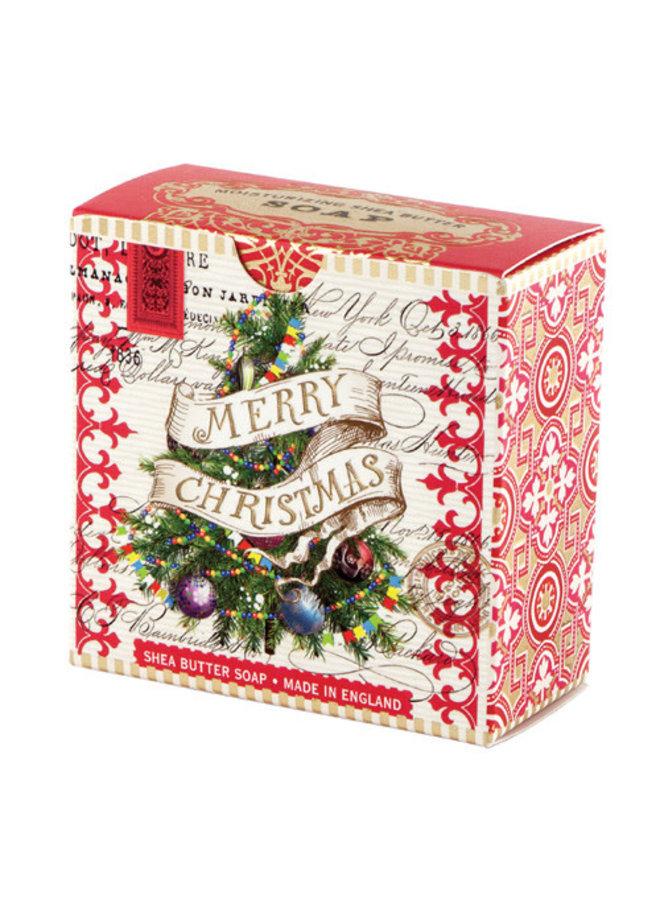 Frohe Weihnachten Baum kleine Shea Seife