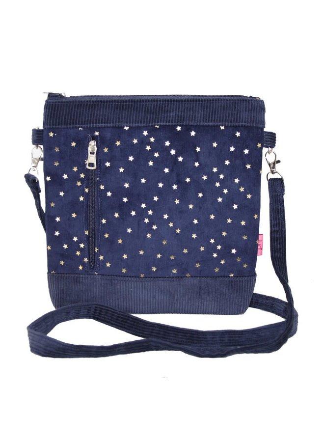 Messenger Umhängetasche Stars Blue750