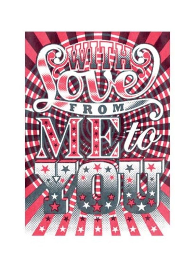 With Love card by James Brown
