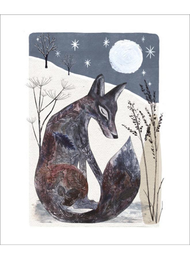 Midnight Fox card by Gordy Wright