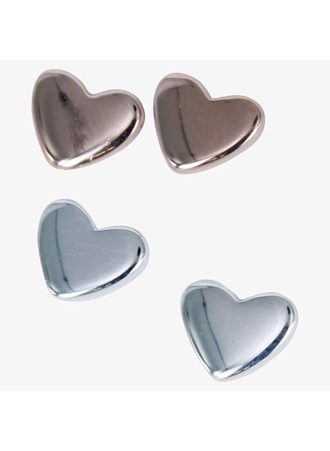 Petit Heart Silber (nur) Ohrstecker 94