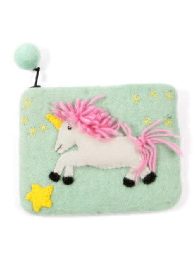 Unicorn Purse Felt 23