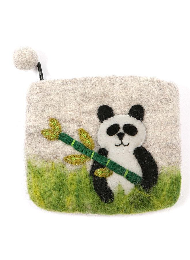 Panda Purse Felt 22