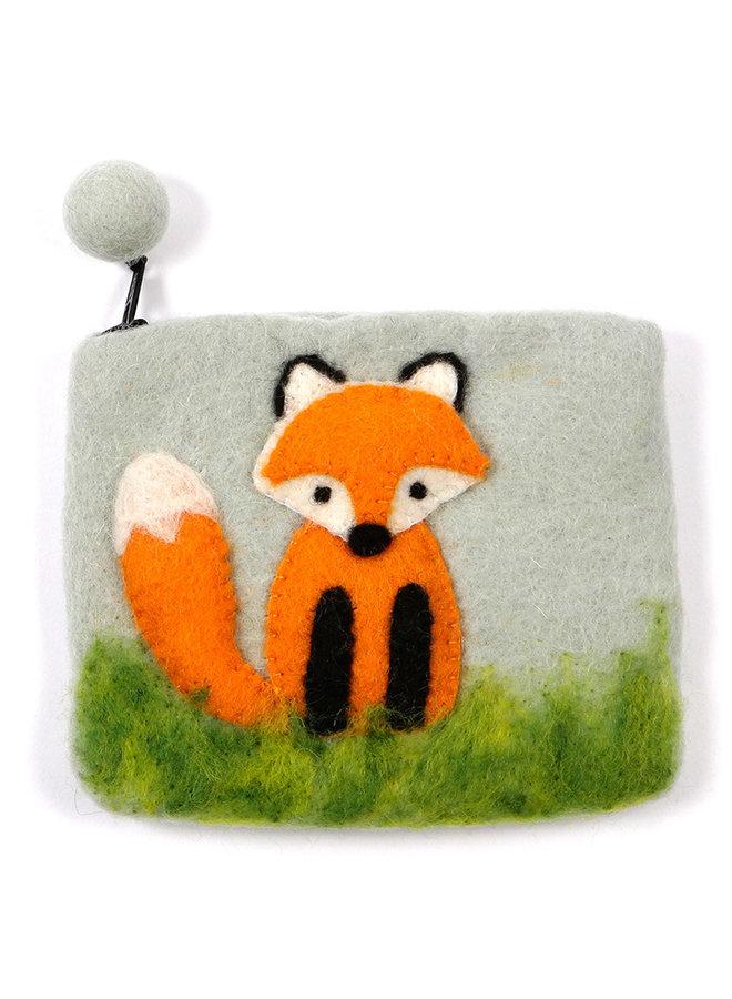 Fox Purse Felt 20