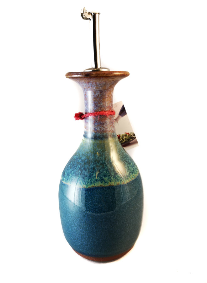 Olivenöl Dekanter große Keramik mit Box 57