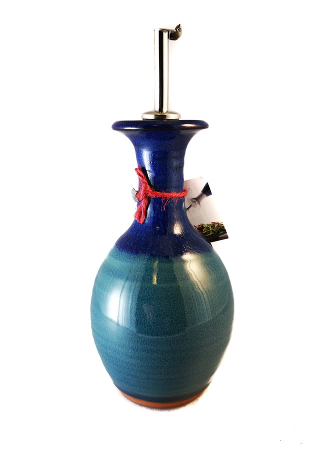 Olivenöl Dekanter große Keramik mit Box 59