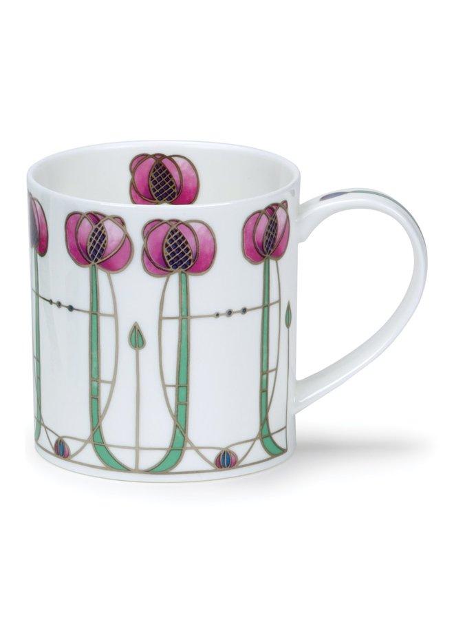 Art Nouveau design Pink  Mug 91