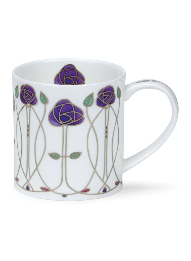 Art Nouveau design Purple  Mug 92