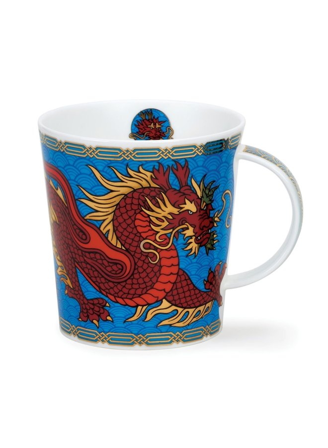 Dragon  Mug Blue 93