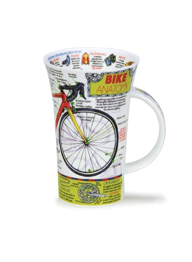 Bike Anatomy Tall Mug by Caroline Dadd 101