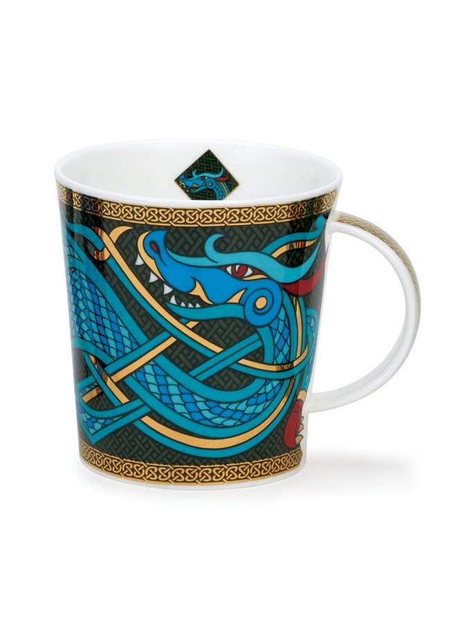 Dragon  Mug Green by David Broadhurst 95