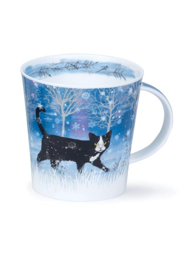 Moonbeam Cat Large mug by Kate Mawdsley 96
