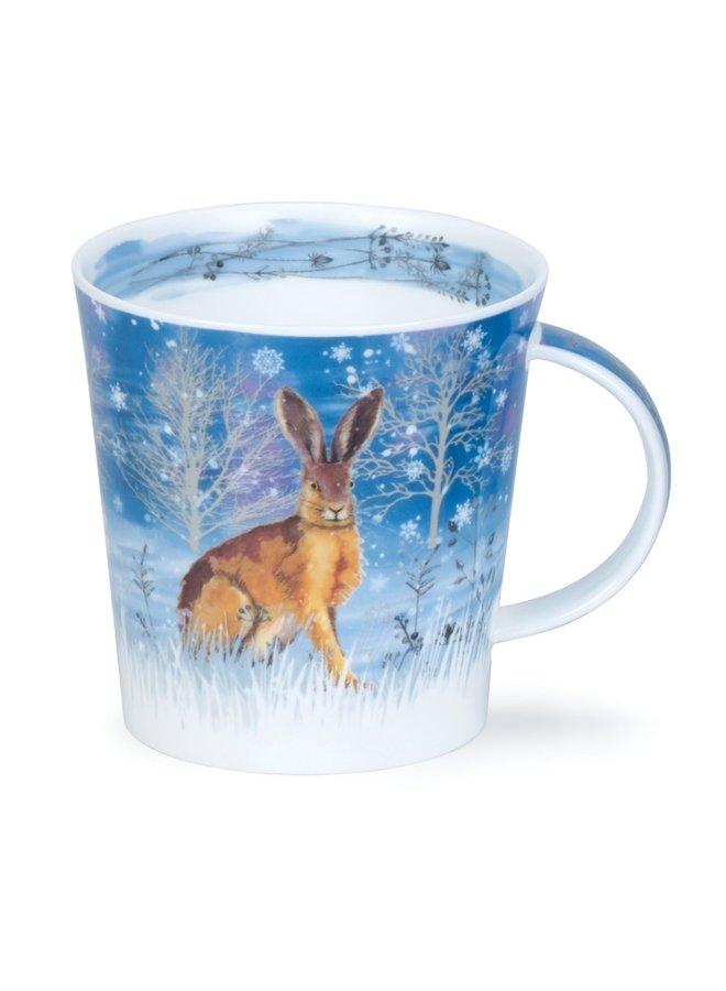 Moonbeam Hare Large mug by Kate Mawdsley 96