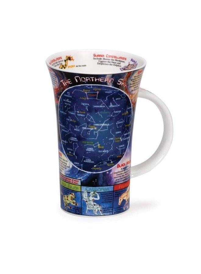 The Northern Sky Tall Mug by Caroline Dadd 102