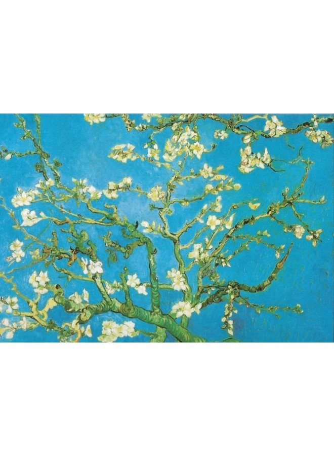 Blooming Almond Tree by Vincent Van Googh 180x 140mm card