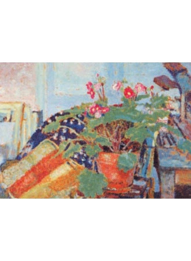 Pot of Flowers by Vuillard 140x 180mm card